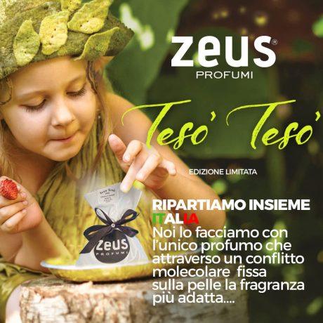 Profumo Zeus Tesò Tesò